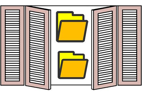 Как сделать открытыми скрытые папки Windows или MacOS