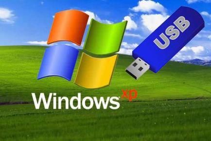 Особенности установки Windows XP с помощью флешки
