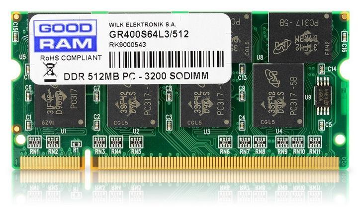 Память DDR-PC-3200 SODIMM
