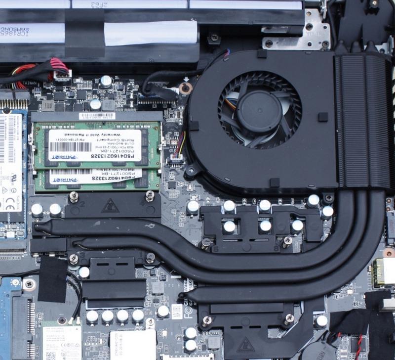 Система охлаждения Gigabyte P55K v5