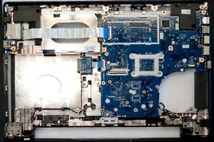Ноутбук без передней панели