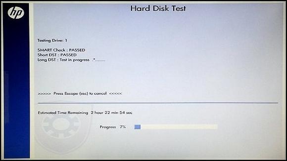 Hard Disk Test