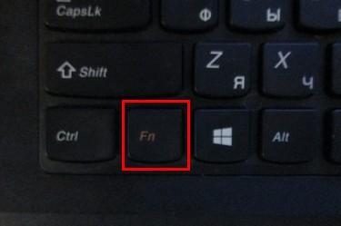 Клавиатура Fn