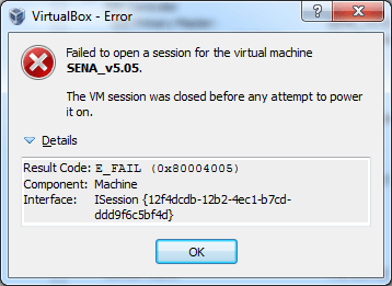 VB-Error