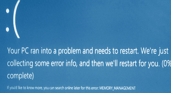 Ошибка Memory Management