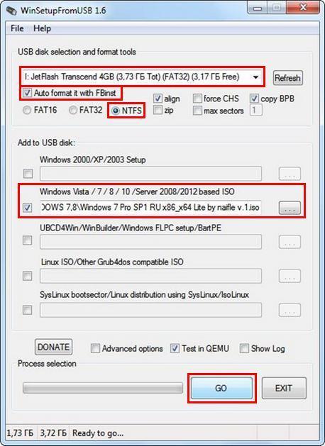 Как сделать загрузочный флешку windows 7 из iso образа