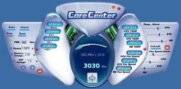 Dual Control Center