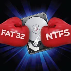 Форматы FAT32 и NTFS