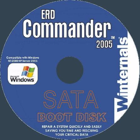 Диск ERD Commander