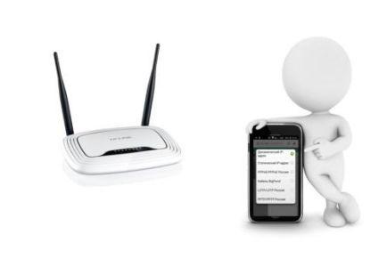 Как настроить роутер через телефон на примере TP-Link