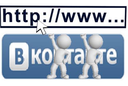 Как делать ссылки на группу ВКонтакте словом