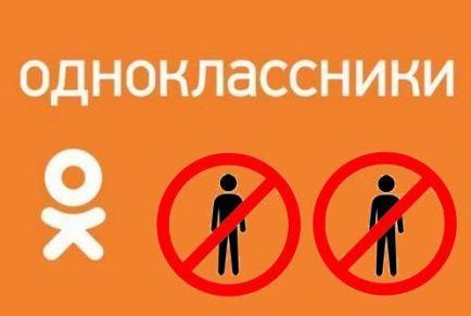 Как заблокировать человека в соцсети Одноклассники