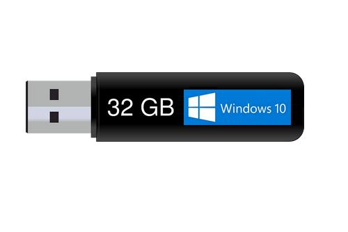 Как записать установщик Windows 10 на флешку