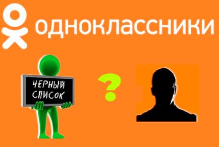 Как в Одноклассниках добавить человека в черный список