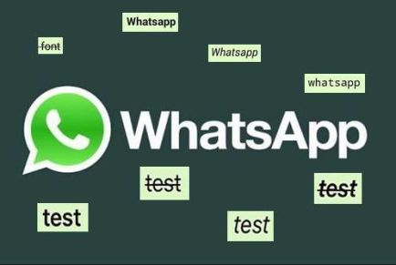 Жирный, курсивный, зачеркнутый шрифт в WhatsApp