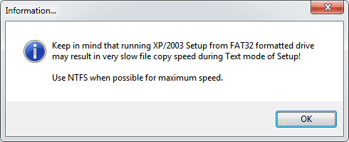 WS выбор для XP