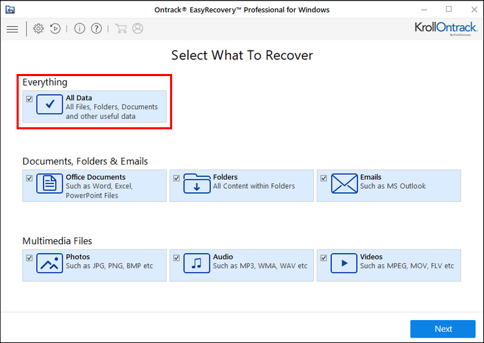 Ontrack EasyRecovery Proffesional