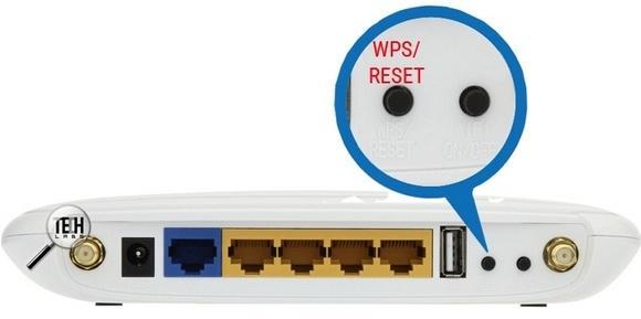 Кнопка WPS-RESET