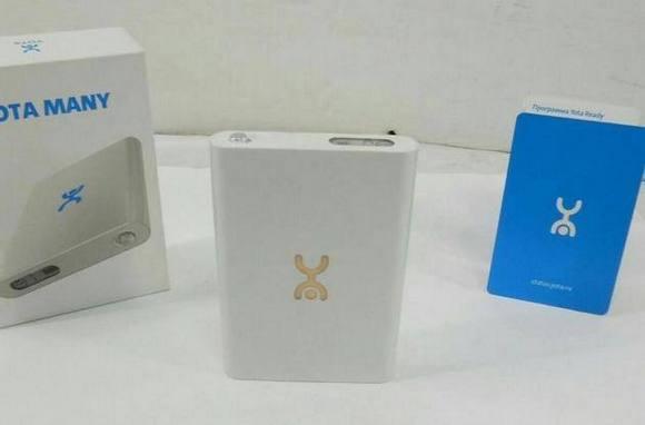 Мобильный модем Yota