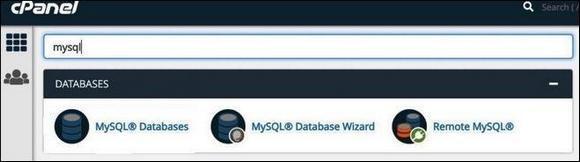 Раздел Databases