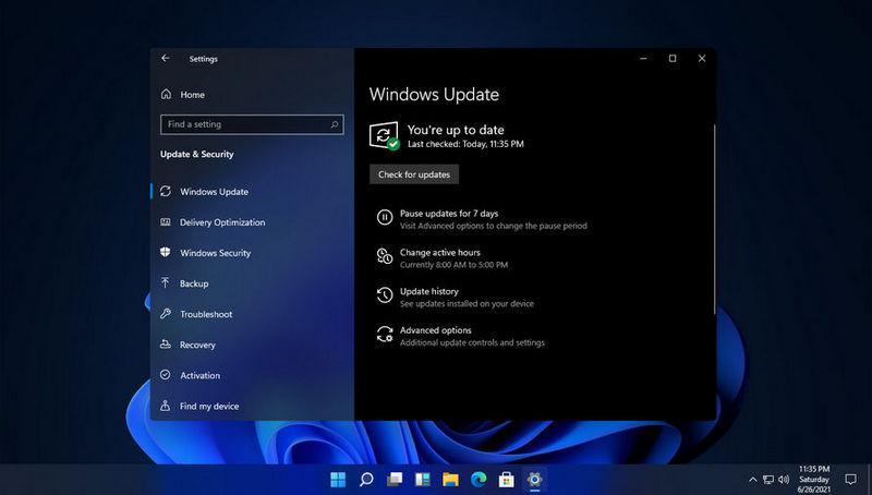 Обновление Windows11